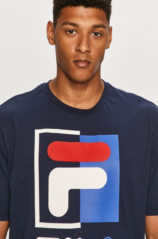 granatowy Fila - T-shirt