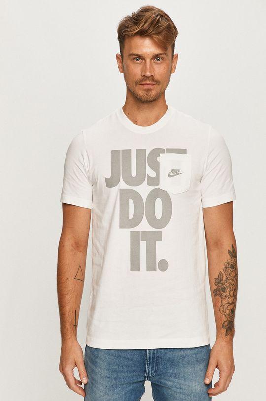 biela Nike Sportswear - Tričko Pánsky