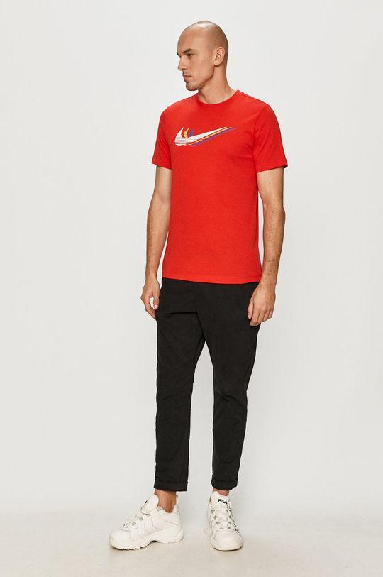 Nike Sportswear - T-shirt czerwony