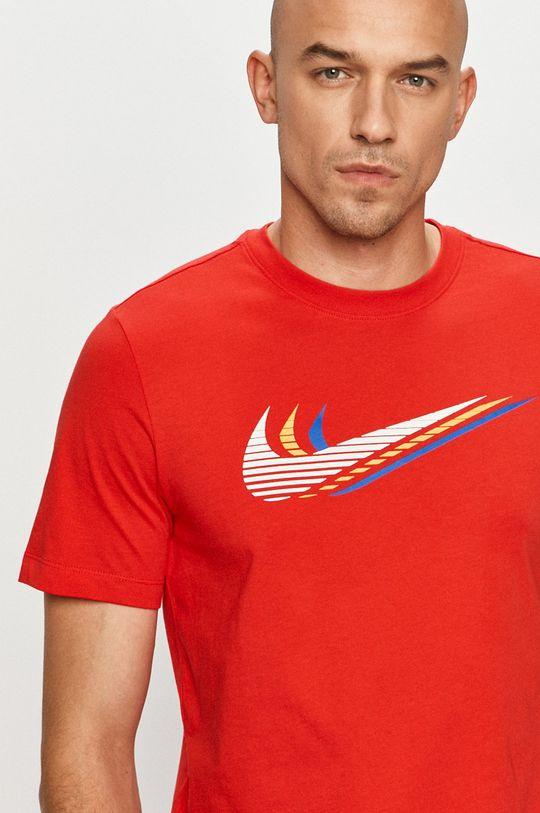 czerwony Nike Sportswear - T-shirt
