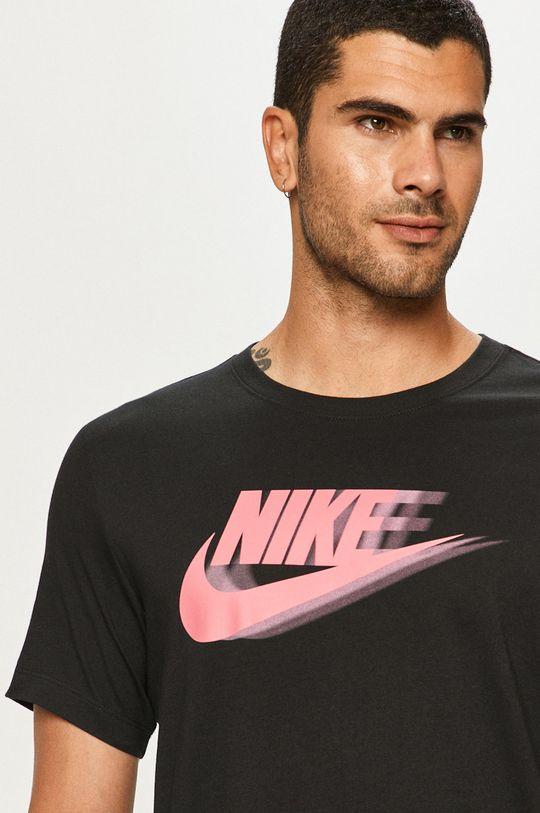 negru Nike Sportswear - Tricou De bărbați