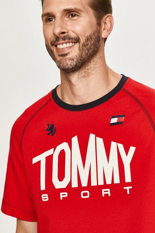 červená Tommy Sport - Tričko