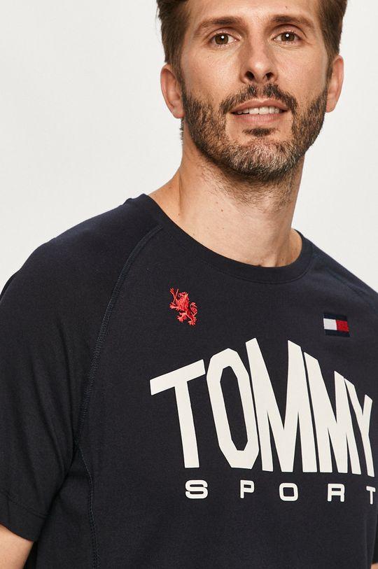 tmavomodrá Tommy Sport - Tričko