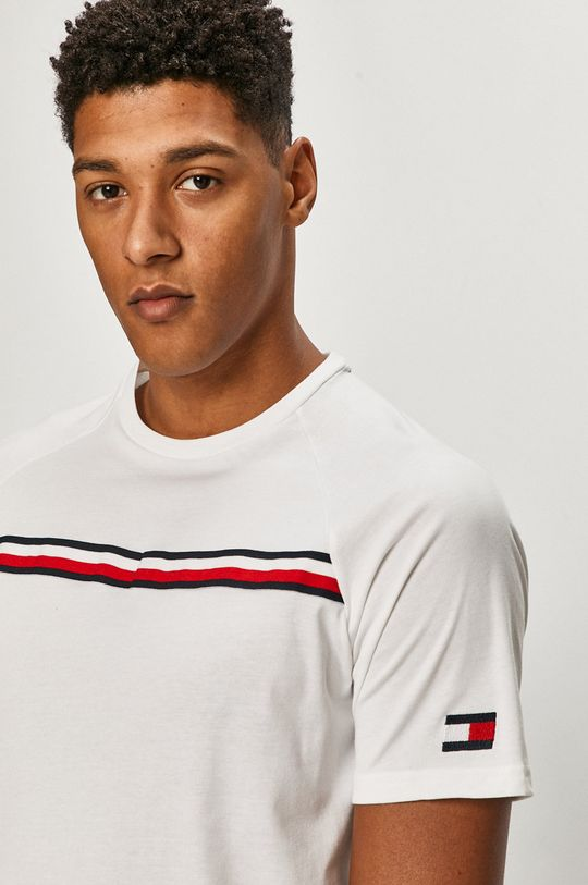 bílá Tommy Sport - Tričko