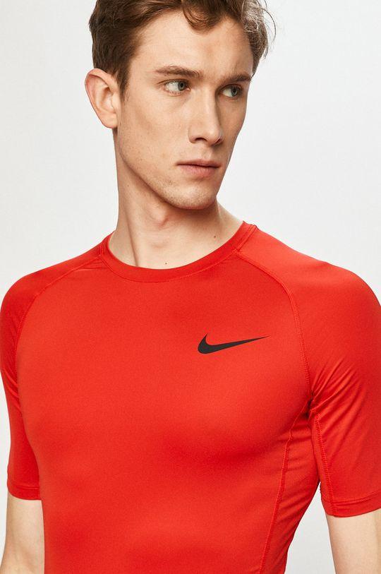 czerwony Nike - T-shirt Męski
