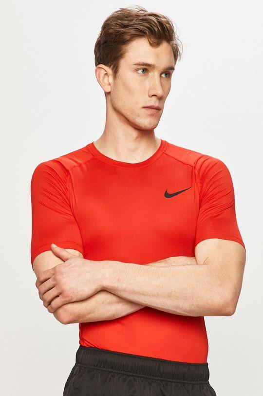 Nike - T-shirt czerwony