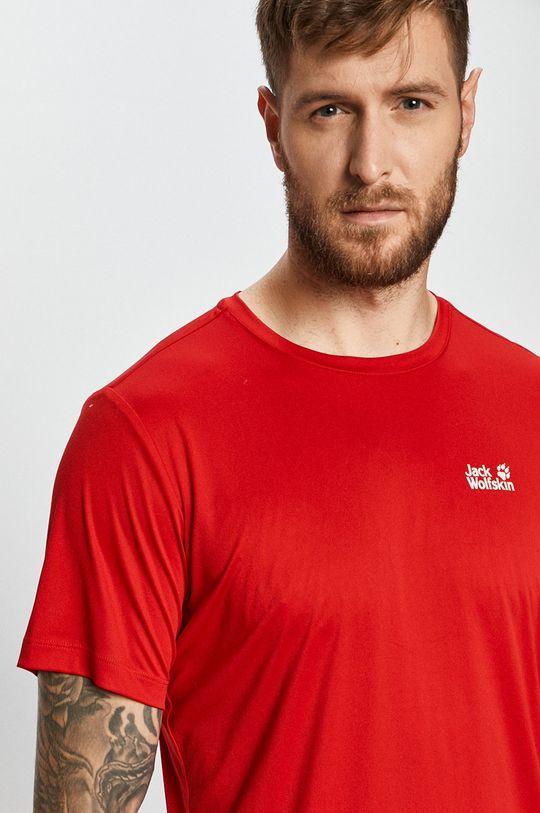 červená Jack Wolfskin - Tričko