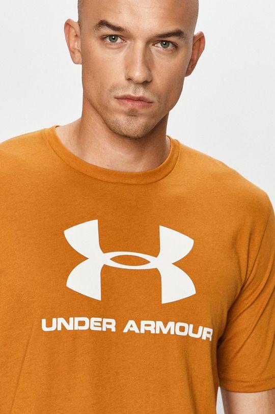 zlatohnědá Under Armour - Tričko