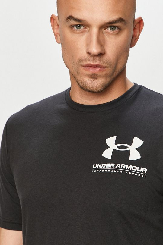 czarny Under Armour - T-shirt
