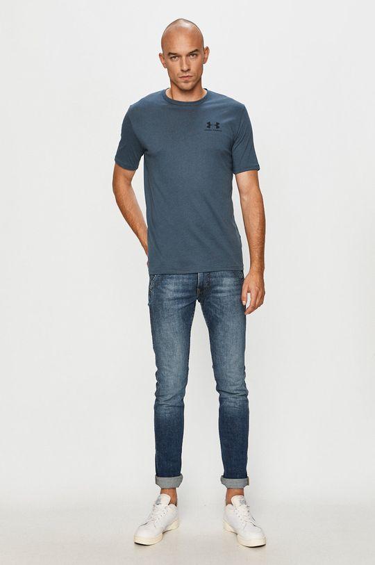 Under Armour - Tričko ocelová modrá