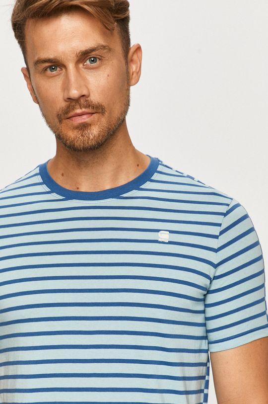 jasny niebieski G-Star Raw - T-shirt