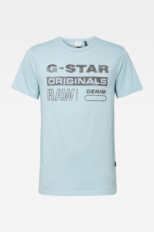 světle modrá G-Star Raw - Tričko