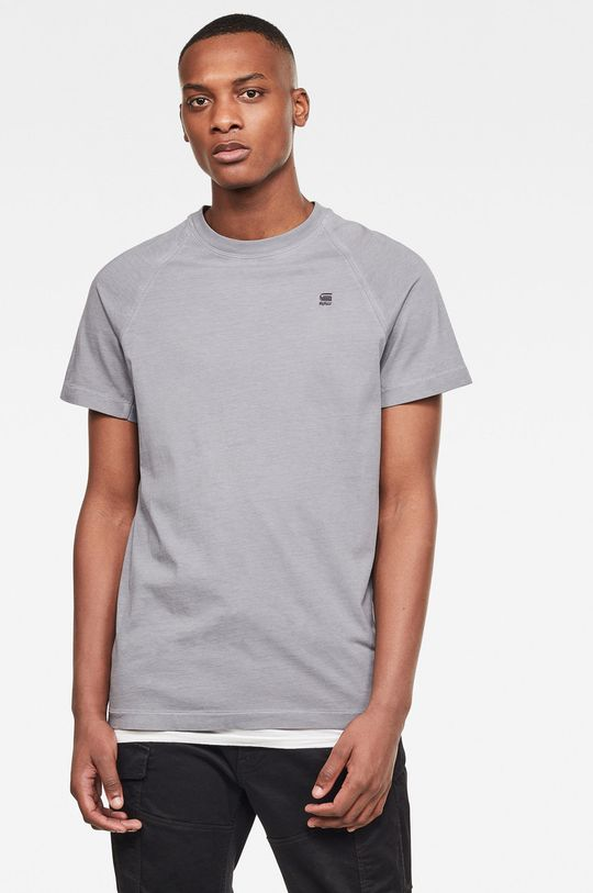 szary G-Star Raw - T-shirt Męski