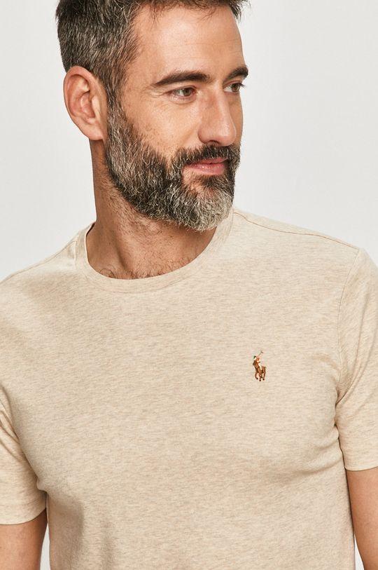 smetanová Polo Ralph Lauren - Tričko Pánský