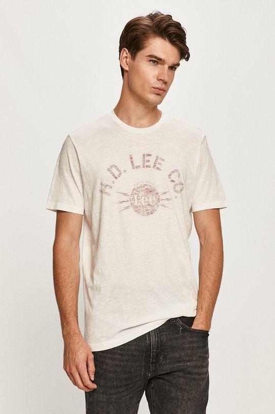 bílá Lee - Tričko Pánský