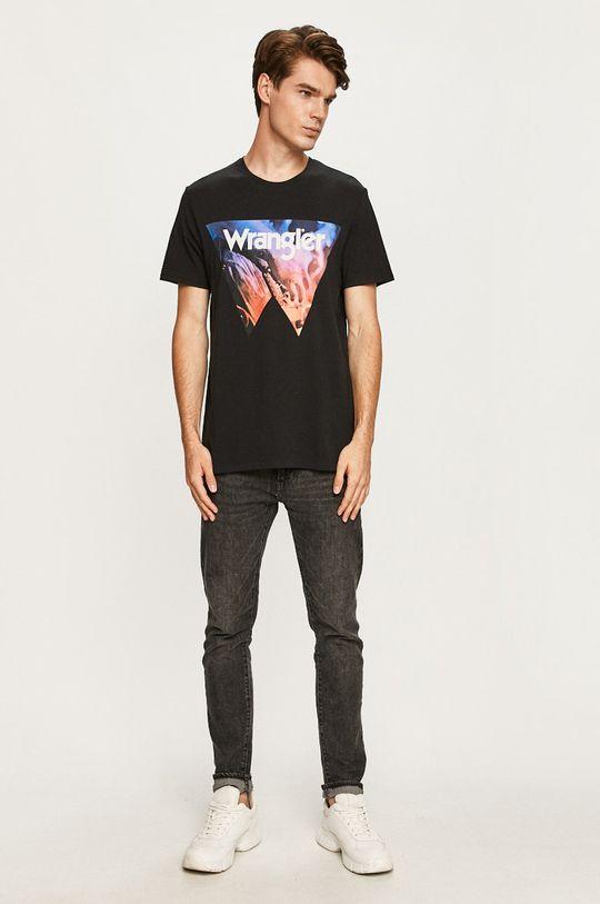 Wrangler - Tričko čierna