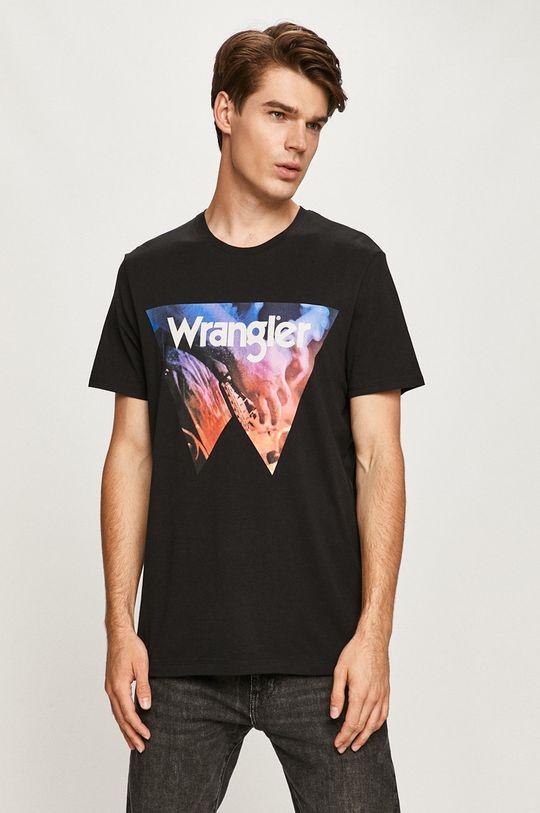 čierna Wrangler - Tričko