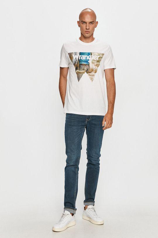 Wrangler - Tricou alb