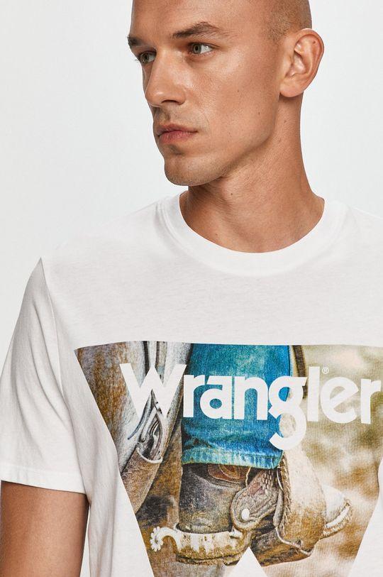 alb Wrangler - Tricou