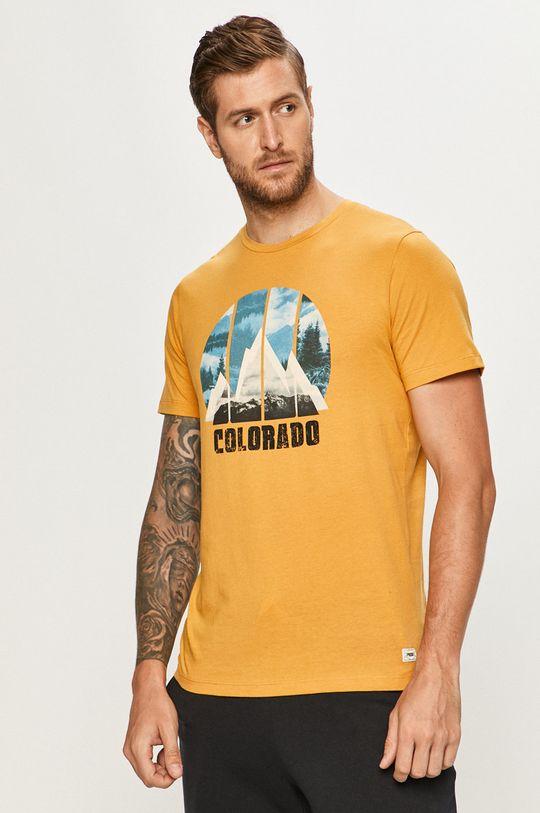 chihlimbar Produkt by Jack & Jones - Tricou De bărbați