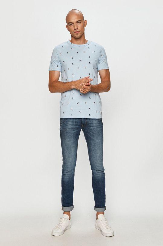 Produkt by Jack & Jones - Tricou albastru deschis