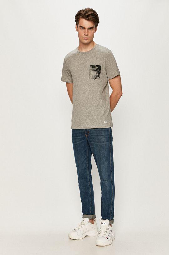 Produkt by Jack & Jones - Tričko svetlosivá