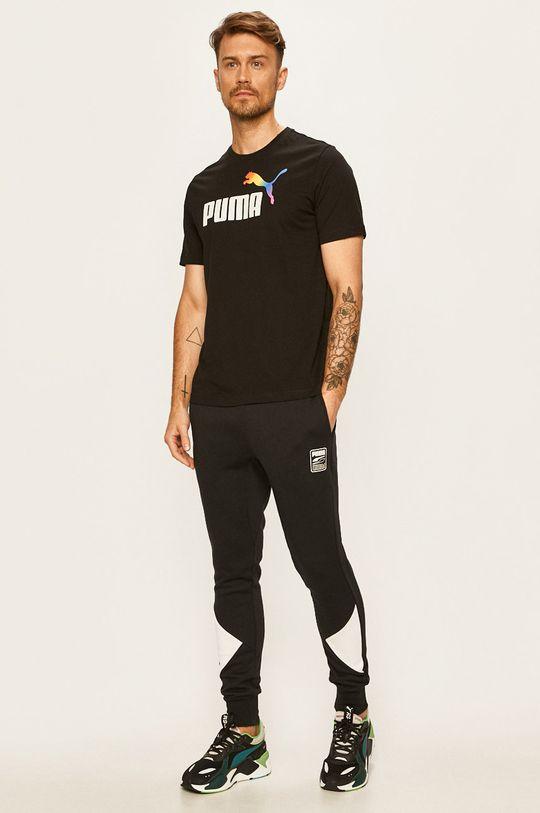 černá Puma - Tričko Pánský