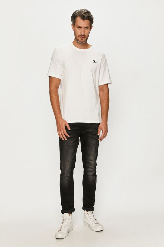 Converse - Tričko biela