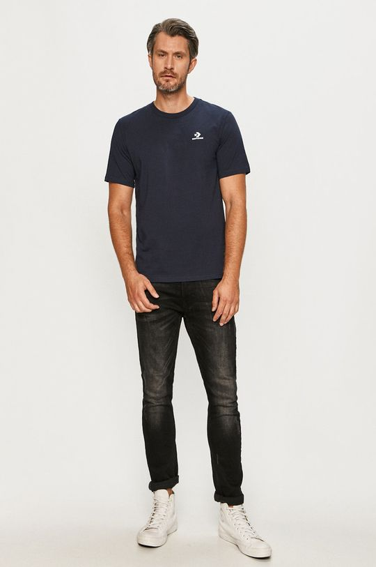 Converse - T-shirt granatowy