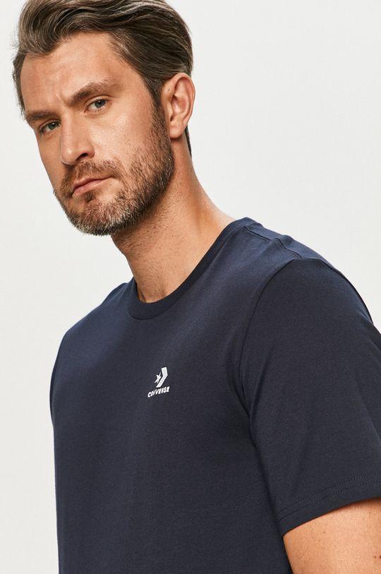 granatowy Converse - T-shirt