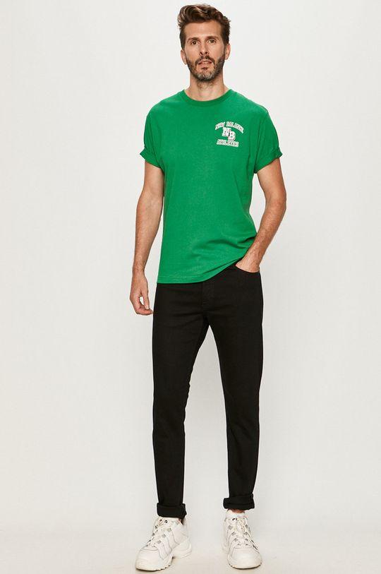 New Balance - Tričko zelená