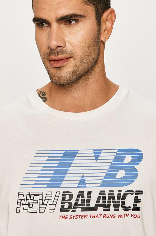 biela New Balance - Tričko