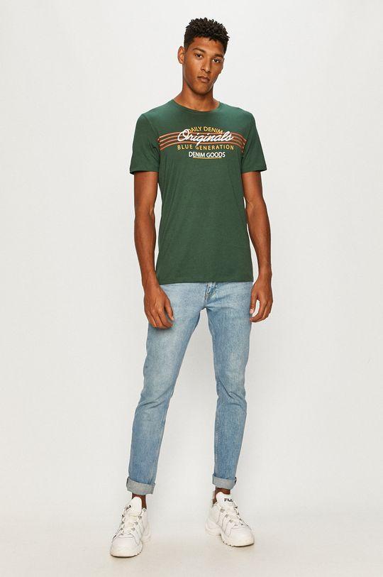 Jack & Jones - T-shirt zielony