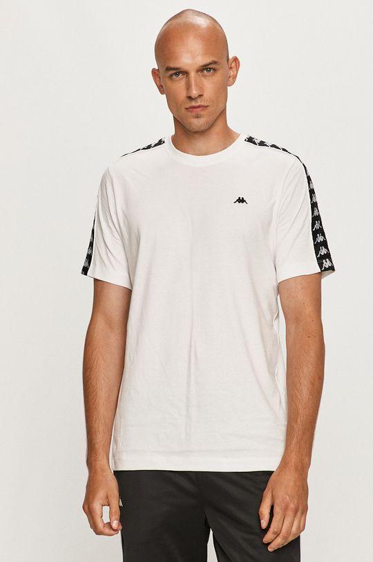 biały Kappa - T-shirt Męski
