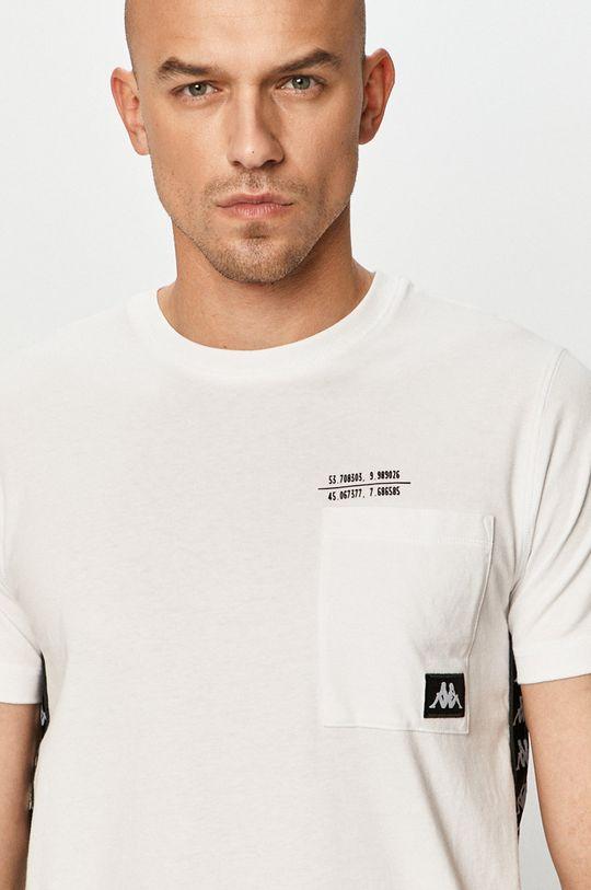 biały Kappa - T-shirt