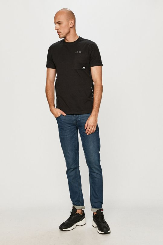 Kappa - T-shirt czarny