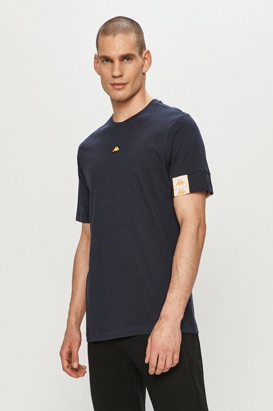 granatowy Kappa - T-shirt Męski