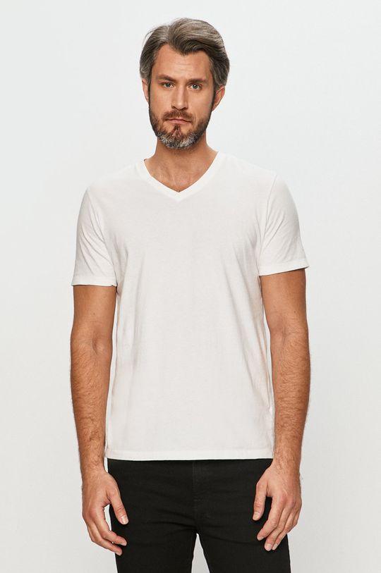 bílá GAP - Tričko Pánský