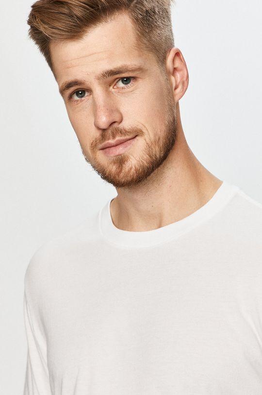 biały GAP - T-shirt Męski