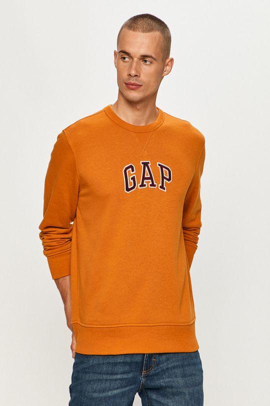 oranžová GAP - Mikina Pánský