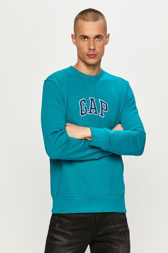 niebieski GAP - Bluza Męski