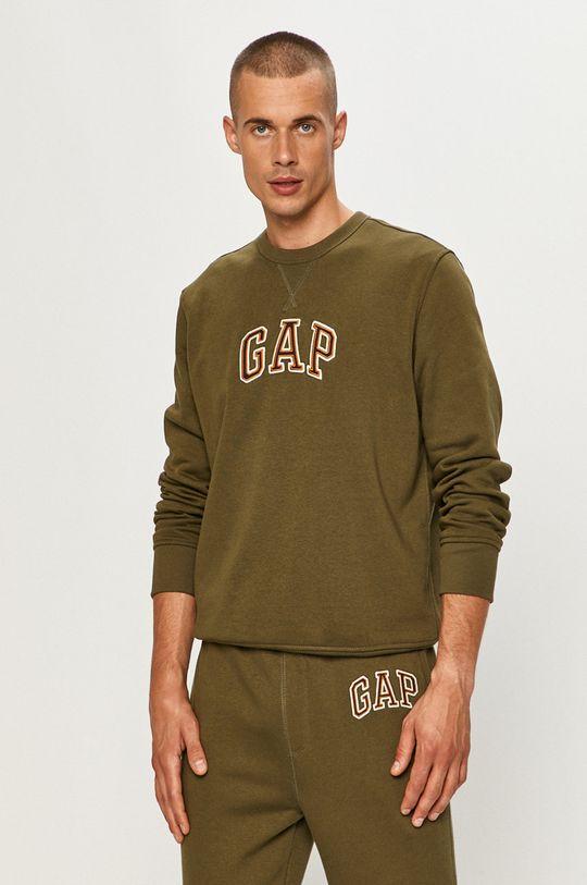 zielony GAP - Bluza Męski
