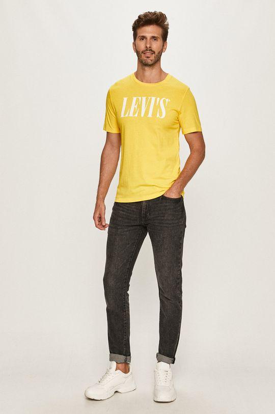 Levi's - Tričko žltá