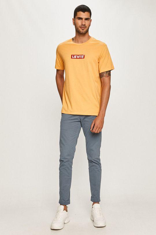 Levi's - Tricou portocaliu