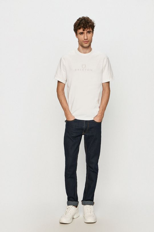 Brixton - T-shirt biały