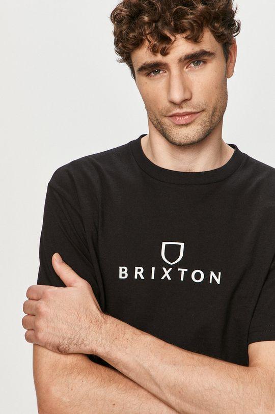 černá Brixton - Tričko