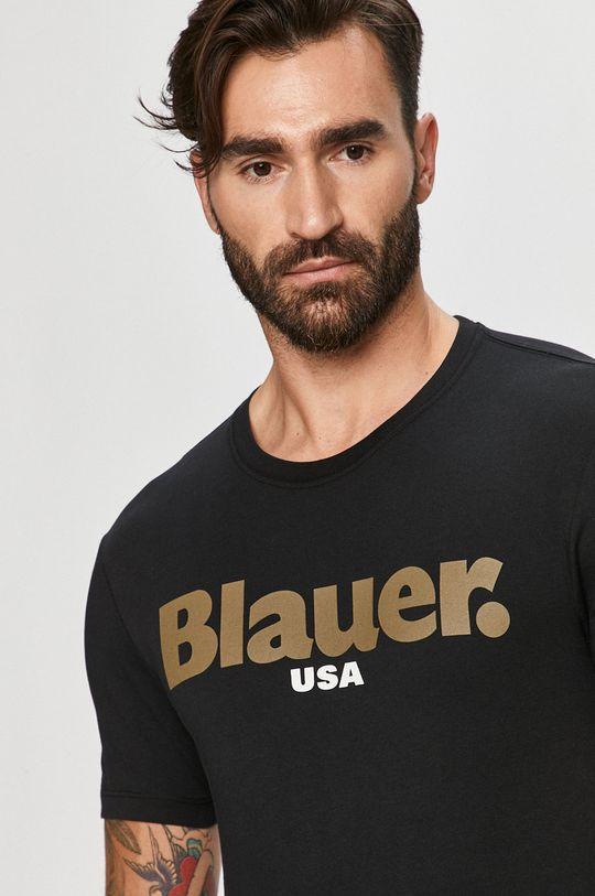 negru Blauer - Tricou