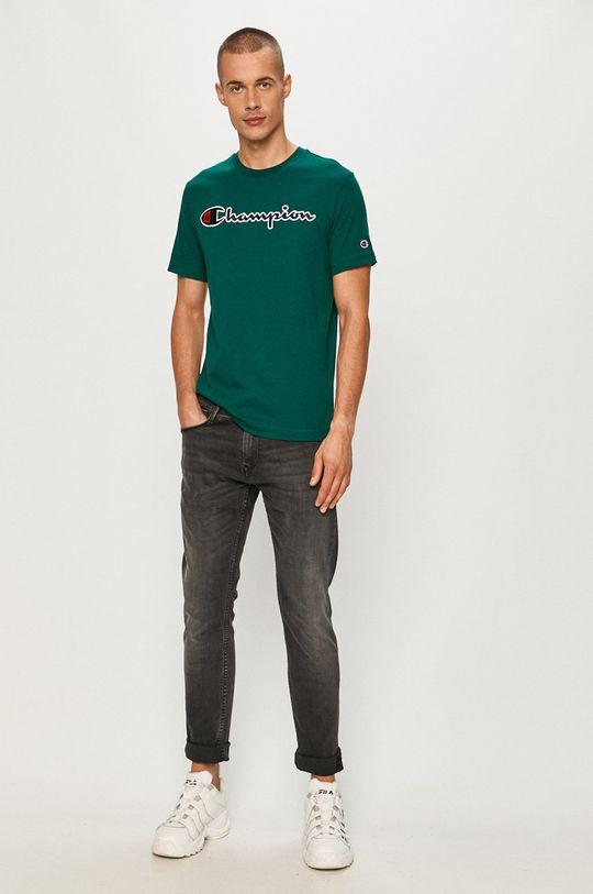 Champion - Tričko oceľová zelená