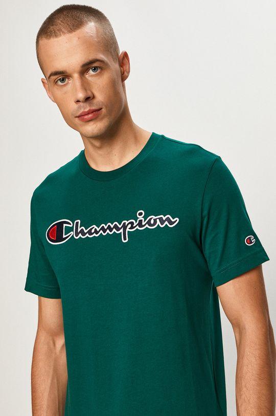 oceľová zelená Champion - Tričko