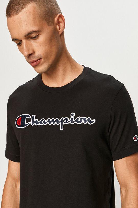 čierna Champion - Tričko Pánsky